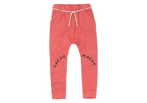 Sproet & Sprout Sproet & sprout Pants Nacha Macho - red pepper