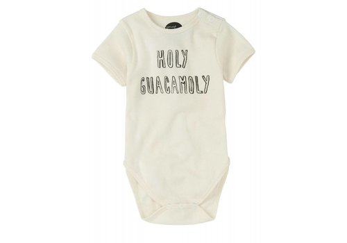 Sproet & Sprout Sproet & sprout Romper Holy Guacomoly - summer white