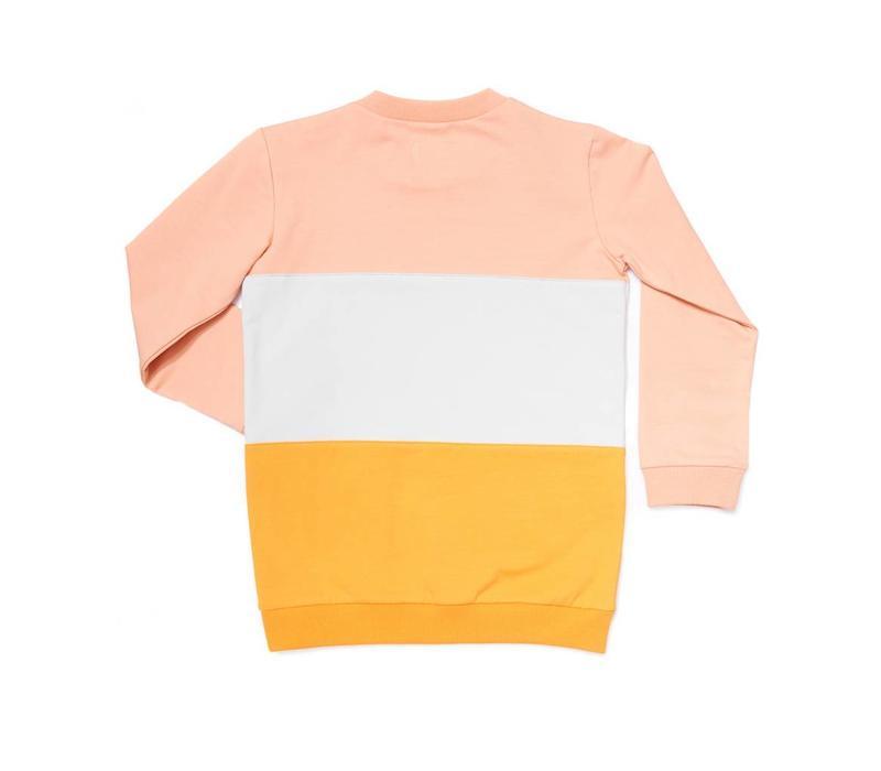 CarlijnQ Sunset Sweater Block + Embroidery