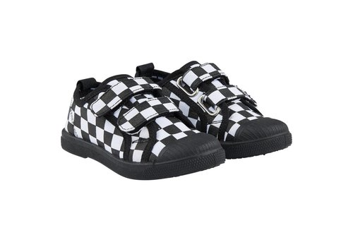 CarlijnQ CarlijnQ Checkers Velcro Shoes