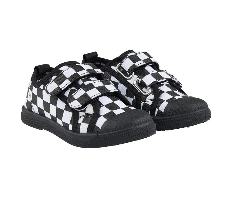 CarlijnQ Checkers Velcro Shoes