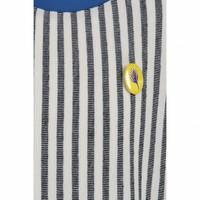 CKS Lily Dress Short - clean blue/off white