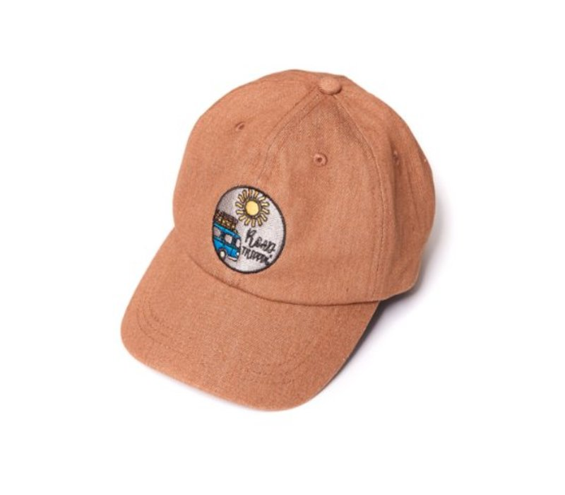 CarlijnQ Road Trippin' Cap - brown denim