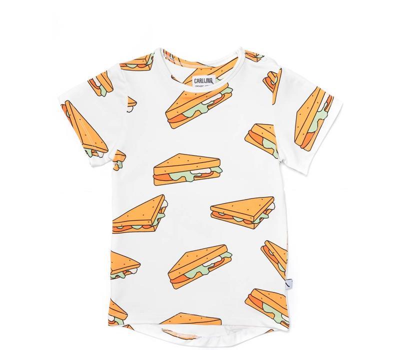 CarlijnQ Sandwiches T-shirt