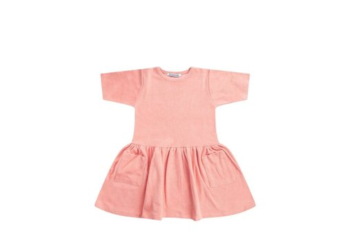 Mingo Mingo Dress Terry Peach Pink