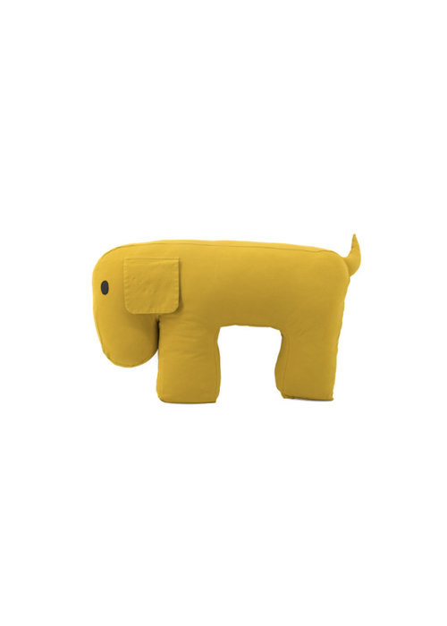 Nanami Nanami Travel Pillow/Cuddle Dog Olly Yellow