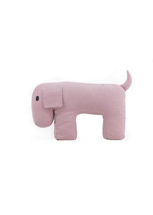 Nanami Nanami Travel Pillow/Cuddle Dog Olly Pink