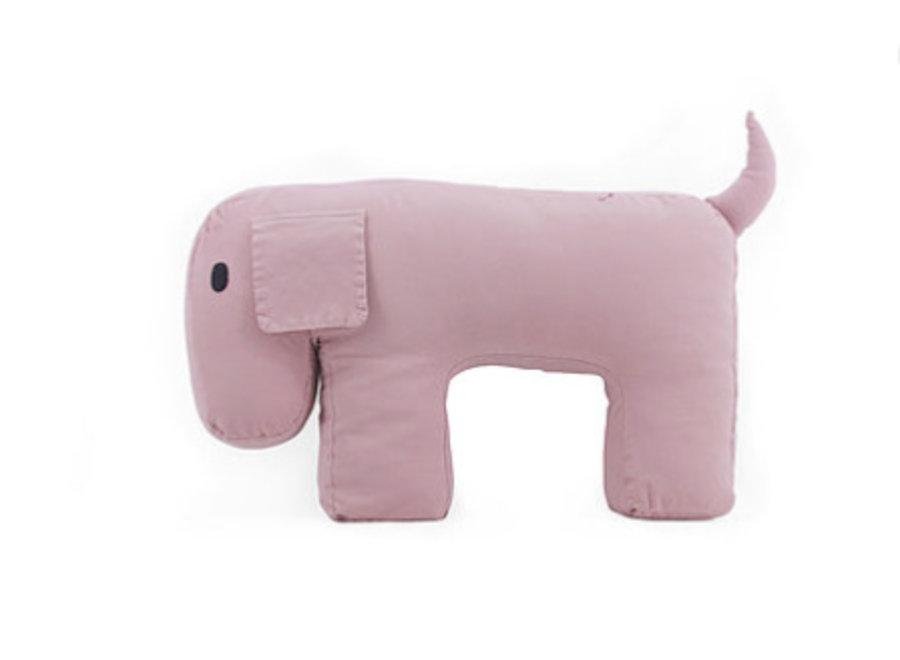 Nanami Travel Pillow/Cuddle Dog Olly Pink