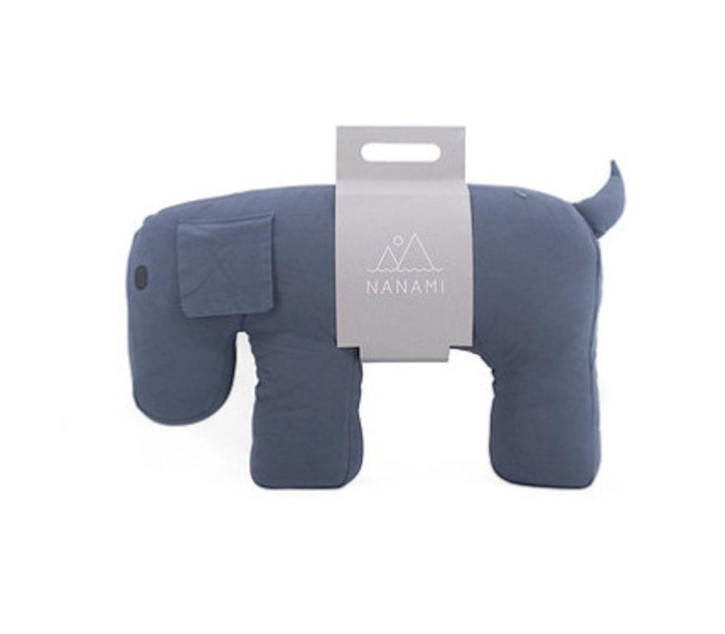 Nanami Travel Pillow/Cuddle Dog Olly Grey