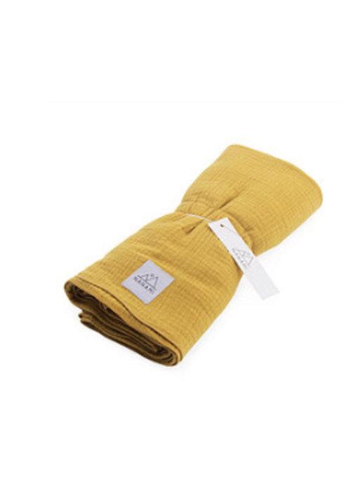 Nanami Nanami Swaddle 130x130cm Yellow