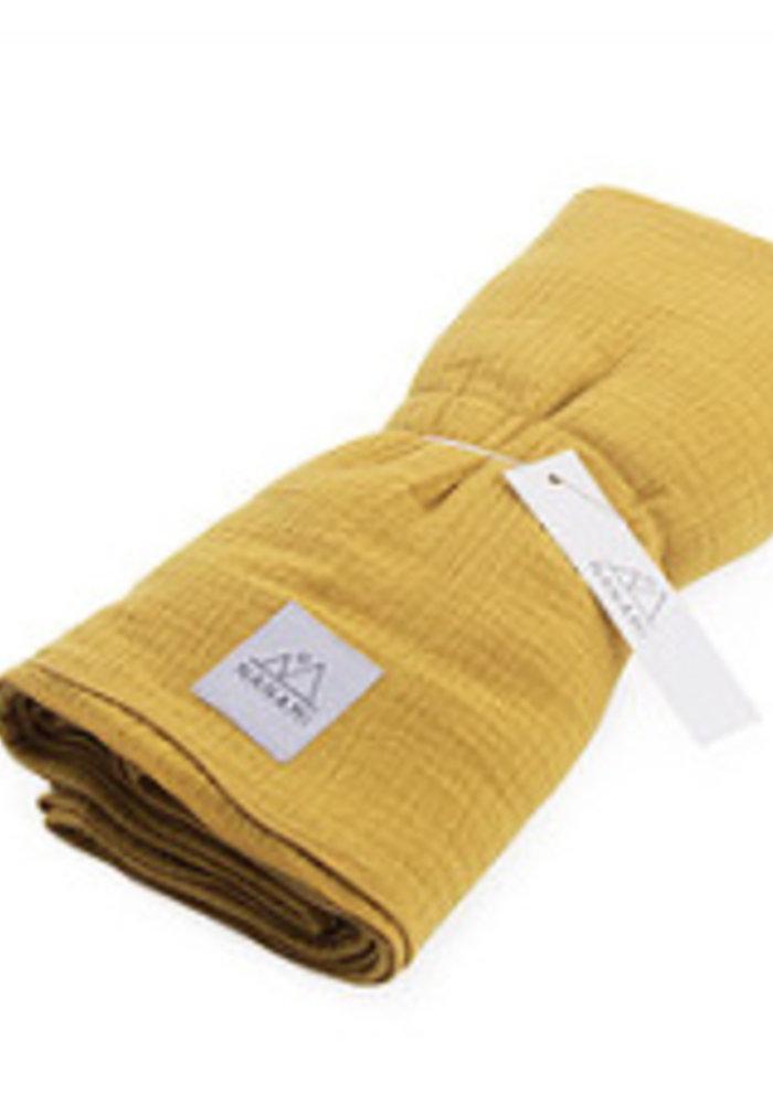 Nanami Swaddle 130x130cm Yellow