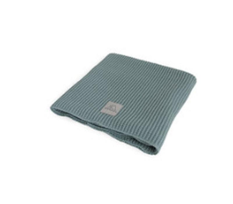 Nanami Baby Blanket Knit Mint