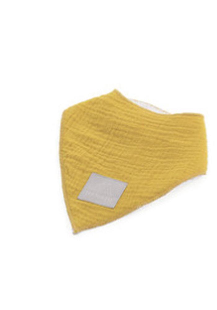 Nanami Bandana Plain Towel Yellow