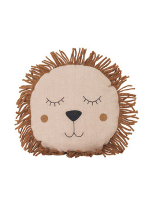 Ferm Living Ferm Living Safari Cushion Lion Rose