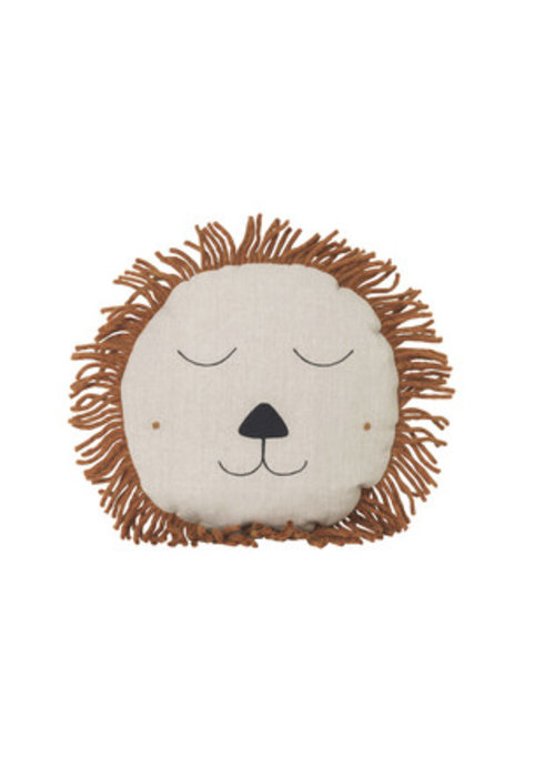 Ferm Living Ferm Living Safari Cushion Lion Naturel