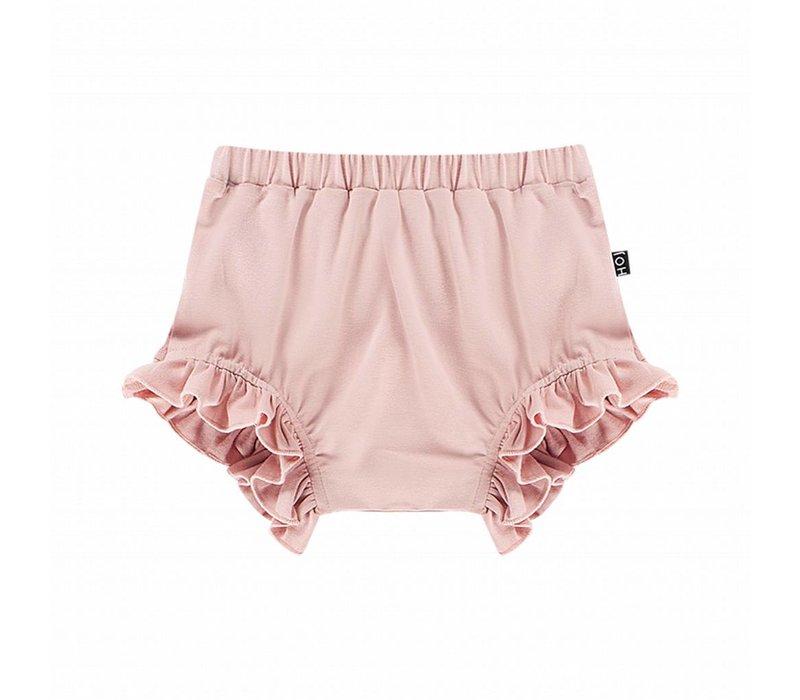 House of Jamie Ruffled Shorts Powder Pink