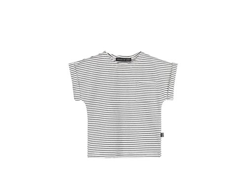 House of Jamie House of Jamie Batwing Tee Little Stripes