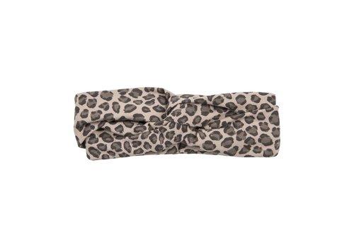 House of Jamie House of Jamie Turban Headband Caramel Leopard