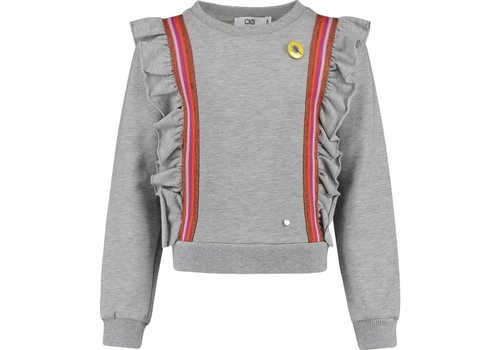 CKS CKS Lore Sweater - grey miel