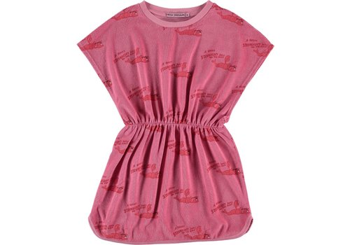 Fresh Dinosaurs Fresh Dinosaurs Strawberry Juice Dress - conch shell