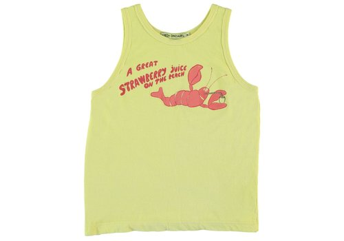 Fresh Dinosaurs Fresh Dinosaurs Strawberry Juice Tank Top