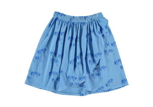 Fresh Dinosaurs Fresh Dinosaurs Beach House Skirt - alaskan blue