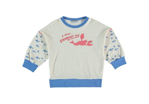 Fresh Dinosaurs Fresh Dinosaurs Strawberry Juice Sweatshirt