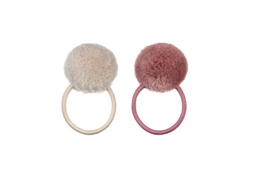Mimi&Lula Mimi & Lula Pom Pom Ponies - soft neutral and pale dusty pink