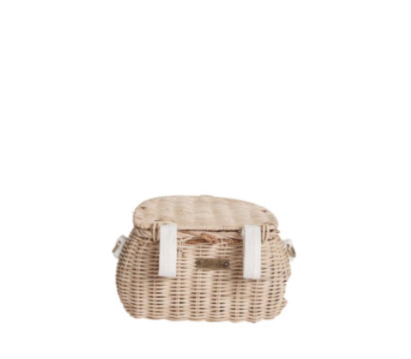 Olli Ella Mini Chari Basket Straw