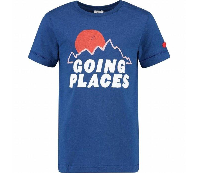 CKS Yalex T-shirt Short Sleeve - strong blue