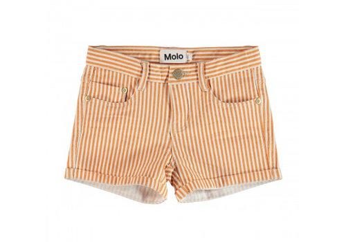 Molo Molo Short Audrey Orange Stripe