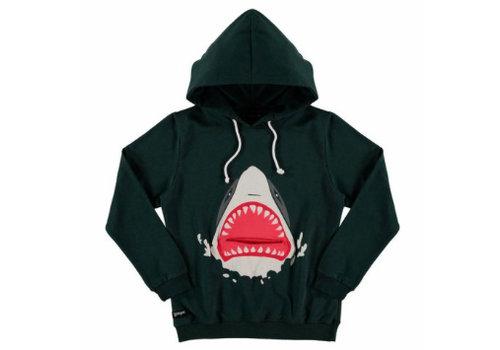 Yporqué Yporqué Shark Hoodie Asphalt