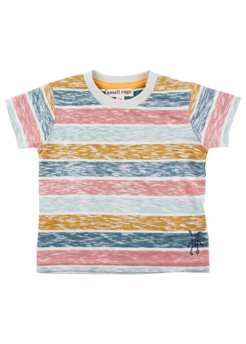 Small Rags Small Rags SS T-shirt - foggy dew