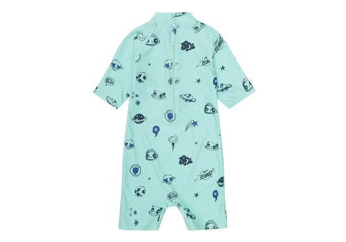 Soft Gallery Soft Gallery Rey Sunsuit Ocean Wave