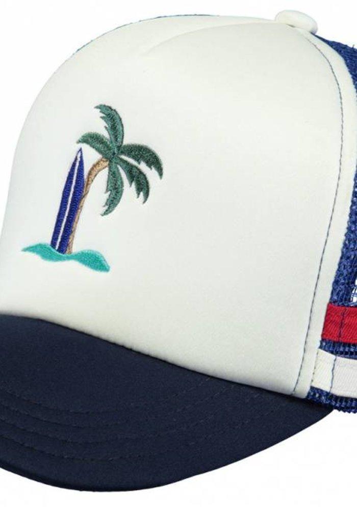 Barts Club Cap Blue (size 50)