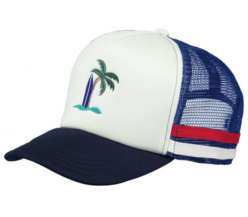 Barts Club Cap - blue