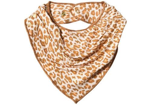 MarMar MarMar Baby Dry Bib caramel leopard