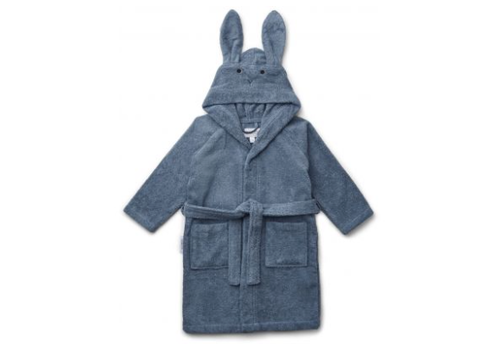 Liewood Liewood Lily Bathrobe Rabbit Blue
