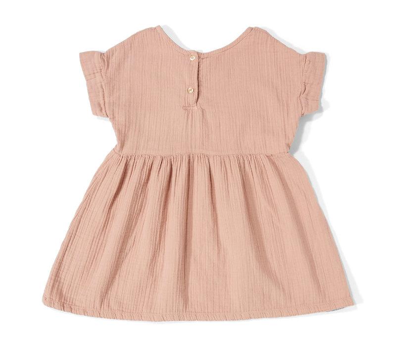 Daily Brat Daisy Dress Dusty Pink