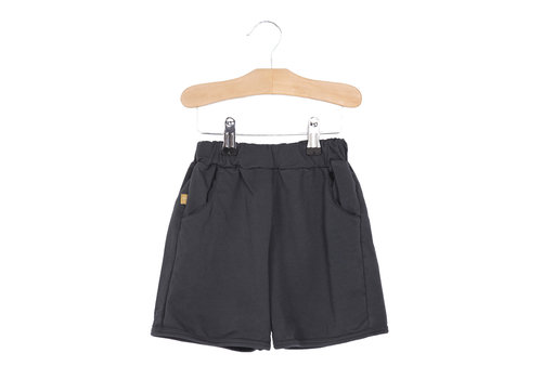 Lötiekids Lötiekids Bermuda Shorts Solid - washed black
