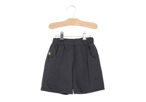 Lötiekids Lötiekids Bermuda Shorts Solid - washed black