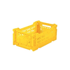 Eef Lillemor Lillemor Folding Crate  Mini - yellow