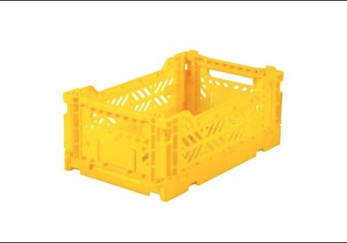 Eef Lillemor Lillemor Folding Crate  Mini - yellow