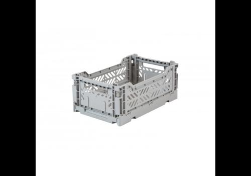 Eef Lillemor Lillemor Folding Crate  Mini - grey
