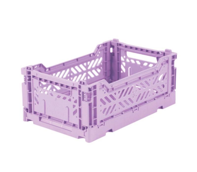 Lillemor Folding Crate  Mini - orchid