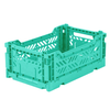 Eef Lillemor Lillemor Folding Crate  Mini - mint