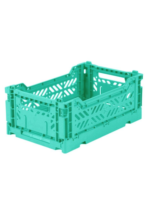 Eef Lillemor Lillemor Folding Crate  Mini - mint