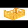 Eef Lillemor Lillemor Folding Crate Midi - yellow
