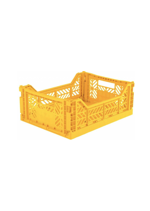 Eef Lillemor Lillemor Folding Crate Midi - yellow