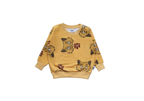 One Day Parade One Day Parade Sweater Yellow Cat
